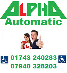 Alpha Automatic Driving Lessons Shrewsbury